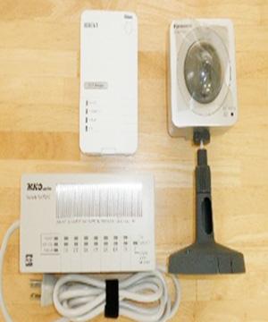 インターネット監視カメラシステム